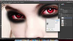 how to beginning of vire makeup with photo cs6