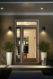 Front Door Sensor Light Nz Lights B And Q Red Wooden Entry Side .