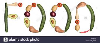 the word food made out of food. Beautiful Out The Word U0027Foodu0027 Made Out Of Vegetables  Stock Image Intended Word Food Made Out Of O