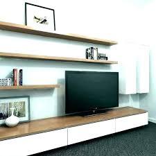 floating glass shelves for entertainment center remarkable shelf modern float with open es entert