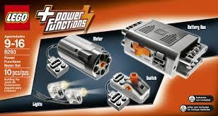 Lego Technic Power Functions Lights Lego Technic Power Functions Motor Set 8293 Building Kit