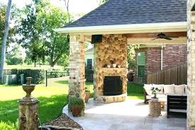 covered patio with fireplace outside fireplace ideas covered patio with fireplace photo 3 of 9 fireplaces