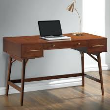 modern writing desk coaster mid century modern writing desk with 3 drawers coaster fine furniture modern
