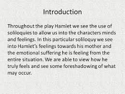 hamlet soliloquy analysis ppt video online introduction