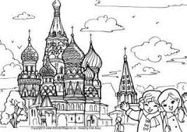 Oncoloring.com, a completely free website for kids with thousands of coloring pages classified by theme and by content. Russia Activities And Printables For Kids