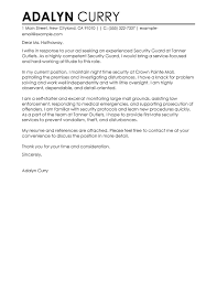 security cover letter samples best security guard cover letter examples livecareer