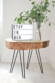 Best 25+ Log table ideas on Pinterest   Wooden trunk coffee table ...