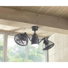 inspired kitchen cdab white brown: home decorators collection pendersen  in led indoor outdoor espresso bronze ceiling fan am eb the home depot