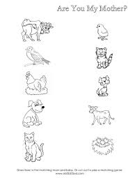 Free Printable Animal worksheet for kids   Crafts and Worksheets ...
