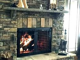 wood burning fireplace glass doors door whats it really stove cleaner firepla