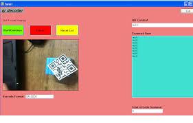 C Decode Multiple Qr Code Webcam Based Qr Decoder Stack Overflow