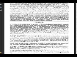 statement of the case example how to read and understand this va form video haditcom va disability claims veteran to veteran va appeal letter sample