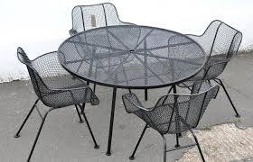 modern patio and furniture medium size wire garden table and chairs extraordinary mesh outdoor chair metal