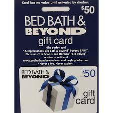 description 50 bed bath beyond gift card