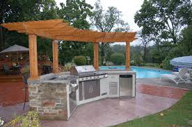 pool and outdoor kitchen designs design ideas simple and pool and