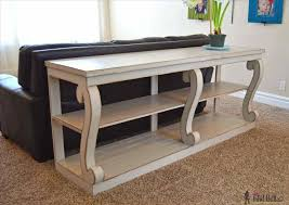 narrow sofa table. Narrow Sofa Table Beautiful Behind Couch Furniture Design Ideas