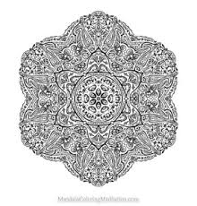 Small Picture A new highly advanced mandala coloring page