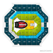 Concert Seating Chart Barclays Center All Inclusive Barclays Center Seating For Concerts Barclays