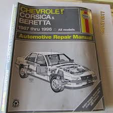 chilton repair manual 88 92 chevrolet corsica beretta w wiring haynes repair manuals 24032 chevy corsica beretta 1987 1996