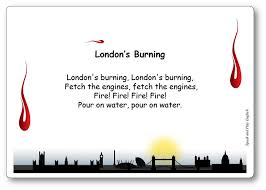 london s burning song with s in