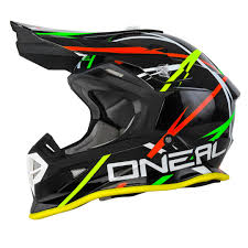 Oneal Helmet Size Chart O Neal 2series Thunderstruck Mx