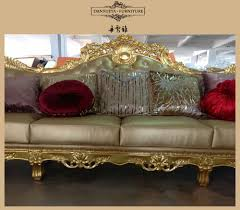 Luxury Couch Shell And Flower Design For Saudi Arabia Kingdom Luxury Leather