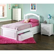 white twin storage bed. Twin Bed Storage White With Drawers W Raised Panel .