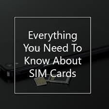 The Different Types Of Sim Cards Explained Simoptions