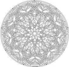 Small Picture Celtic Mandala Adult coloring Free printable and Celtic mandala