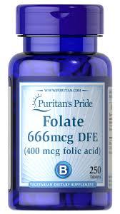 Super Liquid Folate Designs Health Folate 666mcg Dfe Folic Acid 400 Mcg 250 Tablets B 9