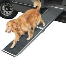 dr 0 ramp lucky dog aluminum folding dog ramp