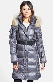 S13 Coat Size Chart S13 Nyc Sam Infinity Belted Long Goose Down Coat With