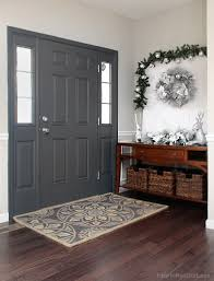 Image Foyer Entry Foyer Painted Front Door How To Nest For Less Painted Interior Front Door Giveaway How To Nest For Less