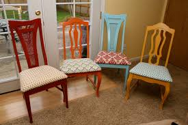 padded dining room chairs. Used Dining Room Chairs TrellisChicago Chair Fabric Ideas Padded