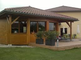 extension de maison en ossature bois à