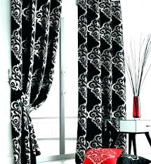 Black And White Curtain Black And White Curtains Black And White ...