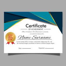 Sample Certificate Award Elegant Modern Certificate Template For Award Diploma Or