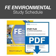 FE Environmental Study Schedule (FEENSS)