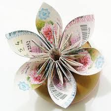 Paper Origami Flower Bouquet Origami Paper Flower Tutorial Origami Easy Paper Origami Flowers