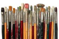 Image result for paint brushes