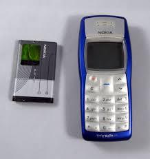 nokia tracfone. tested blue nokia 1100b tracfone cell phone no sim card e
