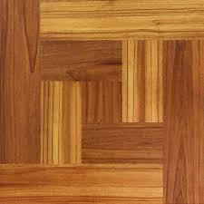 Peel And Stick Kitchen Floor Tiles Trafficmaster 12 In X 12 In Brown Wood Parquet Peel And Stick
