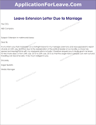 Sample Letter Extending Vacation Ameliasdesalto Com