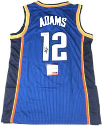 Steven Adams signed jersey PSA/DNA ...