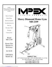 Impex Marcy Diamond Md 2109 Manuals