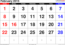 february 2015. Modren February February 2015 Calendar For 5