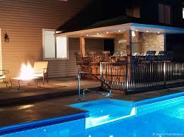 pool outdoor patio bar plans