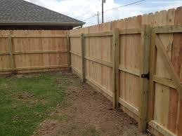 Sensational Wood Fence Plans Fences Frank Breaux Construction Www