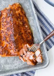 Preheat the oven to 450 degrees f. Baked Salmon With Maple Mustard Glaze 5 Ingredient Recipe Rachel Cooks