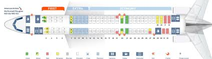 Aa S80 Seating Chart American Airlines Fleet Mcdonnell Douglas Md 80 Details And
